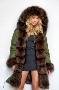 green_army_parka_dark_brown_fox_fur_coat_1